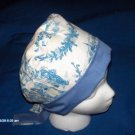SURGICAL SCRUB CAP HAT PIXIE EASY FIT BLUE TOILE