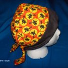 Surgical Medical Hospital Scrub Hats For You Handcrafted HALLOWEEN SMALL WITCHES ON A BROOM