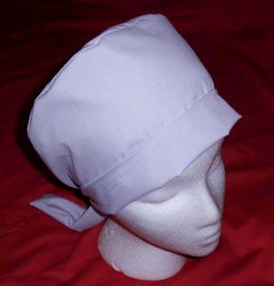 Ladies Nurses Scrubs Pixie Hats Scrub Caps Cap Hat LIGHT LAVENDER