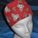 Mens Christmas Quality Unisex Scrub Hats for You Medical Caps SANTA&#39;S SKIVVIES