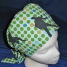 SURGICAL MEDICAL SCRUB CAP HAT PIXIE TIE-BACK ELVIS PRESLEY