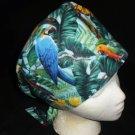 Ladies Nurses Scrubs Surgical Medical Scrub Caps Cap Affordable Hats Large Tropical Birds