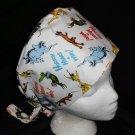 Dr.Seuss Horton Hears A Who Nurses Surgical Scrubs Scrub Caps Ladies Pixie Hat