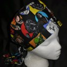 Star Wars Nurses Surgical Scrubs Scrub Caps Ladies Pixie Hat Cancer Recovery Hatst