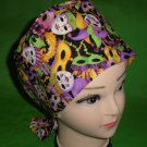 Handcrafted MARDI GRAS Ladies Nurses Scrubs Hats Women Pixie Scrub Caps Surgical Cap Medical Hats
