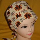 Ladies Nurses Scrubs Hats Women Pixie Scrub Caps Surgical Cap Medical Hats PASTEL DRAGONFLIES