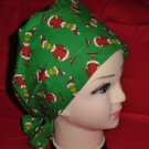 Dr.Seuss How The Grinch Stole Christmas Nurses Surgical Scrubs Scrub Caps Ladies Pixie Hat 2
