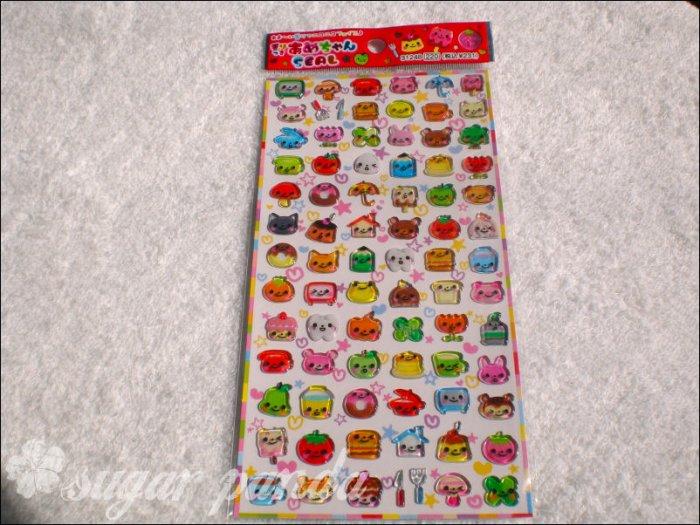 q-lia smile bit sticker sheet