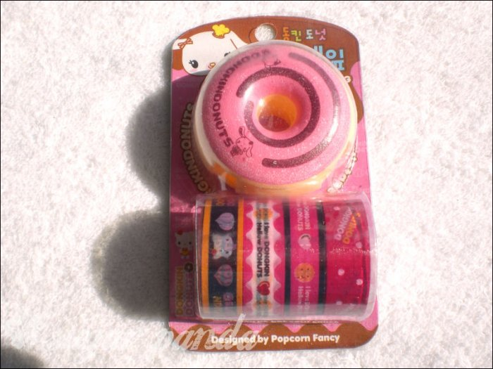 donut deco tape dispenser with tape c