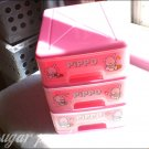 vintage sanrio pippo storage drawers