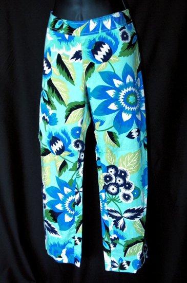 Zara Woman Bold Blue Capri Pants US 4, EU 36, MEX 26, (S) Small
