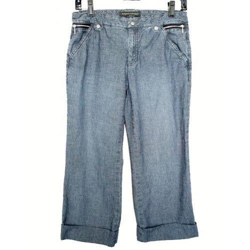 Banana Republic Low Rise Capri/Crop Jeans Size 4 (S) Small
