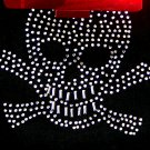 BONGO Blingy Black Skull Skully (Beanie Hat)