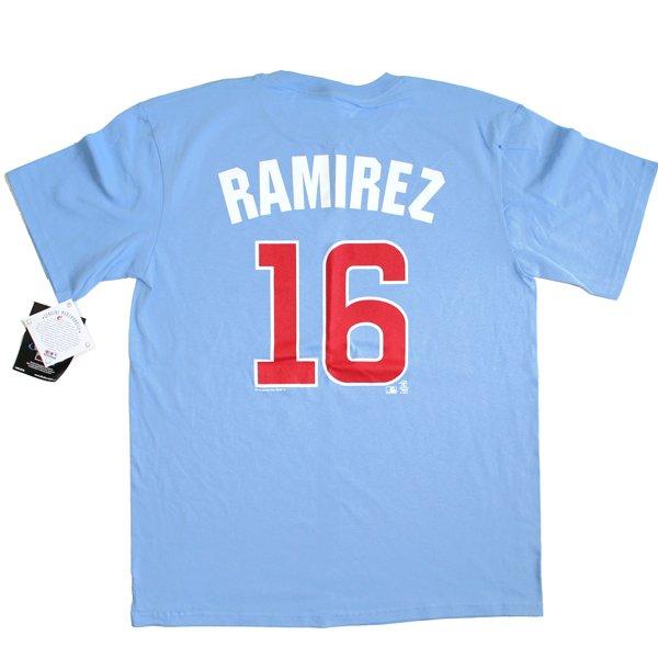Chicago Cubs #16 Ramirez MLB T-Shirt Men's Size Large (L) New