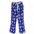 Wine Time Grandma Pants Terry Beachwear Adult Size Small (S) New