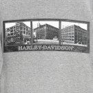 Milwaukee Harley-Davidson 1912 Factory Construction T-Shirt Tee Men&#39;s Size Medium (M)