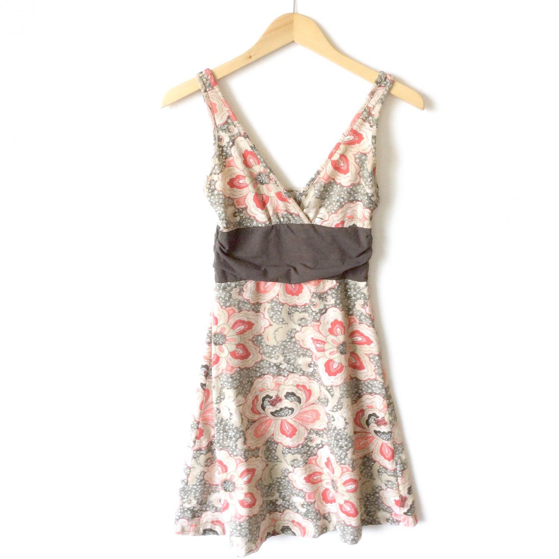 Patagonia Organic Cotton Surplice Bust Empire Waist Knit Dress Sundress Women's Size Small (S)