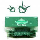 Set of 20 Plant Clips Tomato Garden Trellis Vine Square Foot Gardening