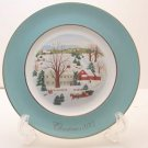 Avon Christmas Plate 1973