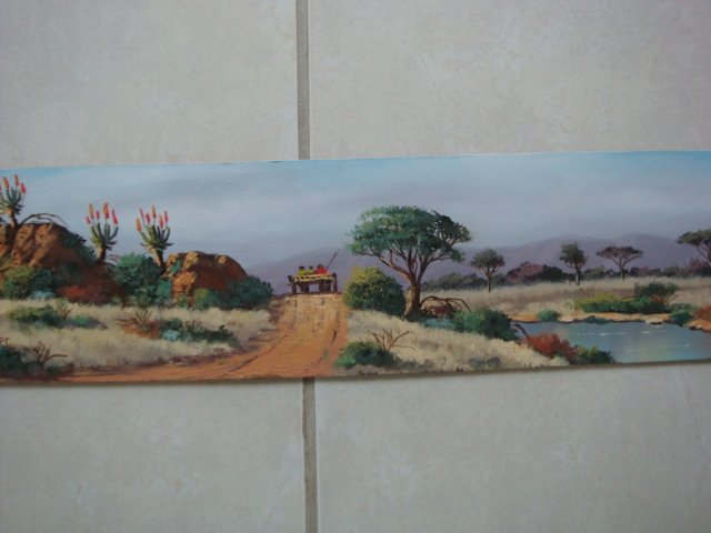 Original Oil Painting - South African Artist - Bella Bella