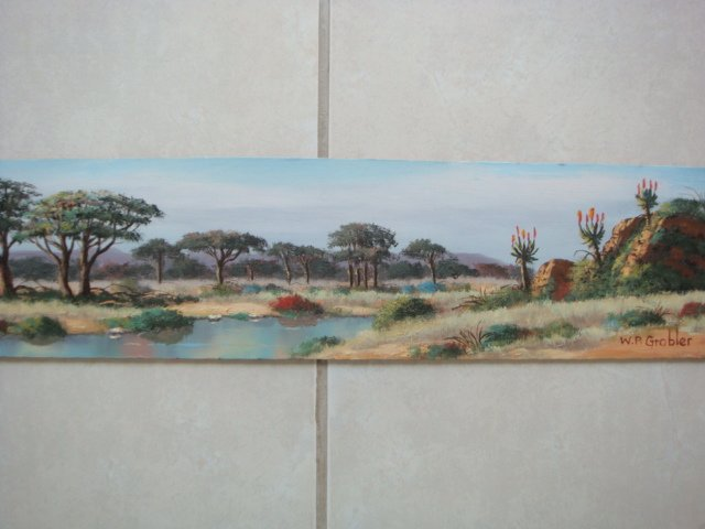 Original Oil Painting - South African Artist - Polokwane