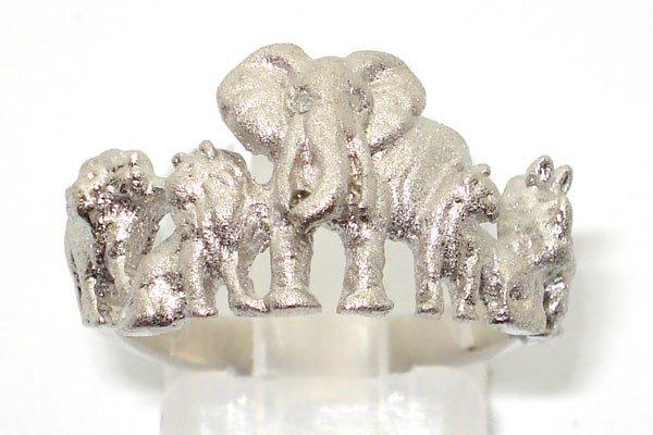 "Silver ""BIG5"" Ring"