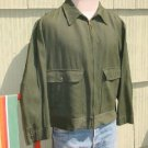 Vintage 50's Mens Jacket Dark Green Penneys 44 XL