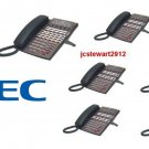 NEC DSX40 PHONE SYSTEM (1) 34B (6) 22 BUTTON DISPLAY PHONES DSX