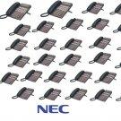 NEC DSX80 16x32 PHONE SYSTEM (2) DSS Consoles (2) 34B (28) 22B DISPLAY PHONES VM