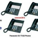 PANASONIC KX-TD816 KSU 4X8 WITH (4) KX-T7425 PHONES READY TO INSTALL!!