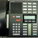 NORTEL M7310 BLACK TELEPHONE NT8B20 PHONE WITH NEW HANDSET CORD AND BASE CORD