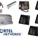 NORTEL NORSTAR CICS 4X8 TELEPHONE SYSTEM  (1) M7310 PHONE (4) M7208 PHONES CID
