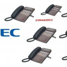 NEC DSX40 PHONE SYSTEM (6) 34B (1) 22  BUTTON DISPLAY PHONES DSX