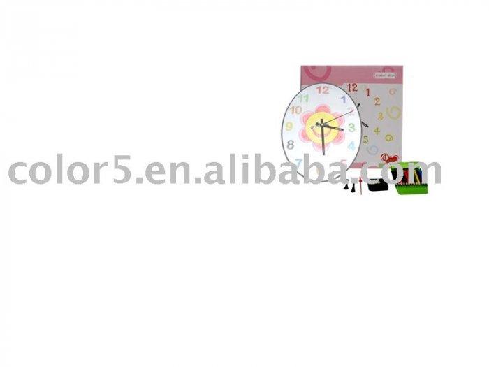 Children clock *Paper clock *Toy clock(DIY-C012)