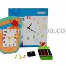Children clock; Paper clock; Toy clock (DIY-C010)
