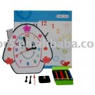 Children clock; Paper clock; Toy clock (DIY-C003)
