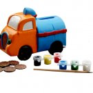 coin bank;paint bank;education toy;ceramic coin bank