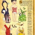 LILY ALLEN Magazine Paper Dolls by Edwina White