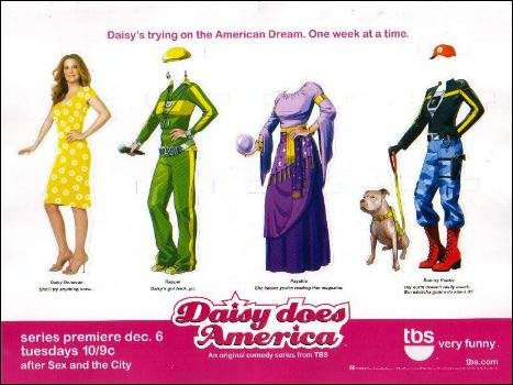 DAISY DOES AMERICA Magazine Paper Dolls DIE-CUT