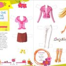 BARBIE CHIC Magazine Paper Dolls With Fall Fashions 2 PAGES