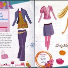 BARBIE CHIC Fun & Fabulous New Fashions Paper Dolls 2 PAGES
