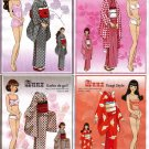 ANNZ Magazine Paper Dolls 4 DOLLS 4 PAGES