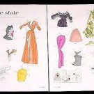 SUNSHINE STATE Magazine Paper Dolls 2 BIG PAGES