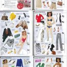 ELLE SHOPS THE OFFICE Magazine Paper Dolls 6 PAGES