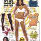 GET HER TO DRESS HOTTER Magazine Paper Dolls