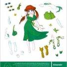 JOHNSONITE FLOORING Magazine Ad Paper Dolls
