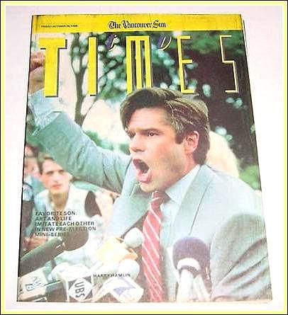TV Times 10/28/88 Harry Hamlin LUBA Kirk Cameron