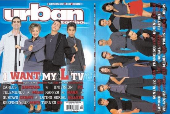 URBAN LATINO Issue #21 1999 WILMER VALDERRAMA Santana