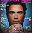 George Magazine September 1999 ROB LOWE Mary J. Blige