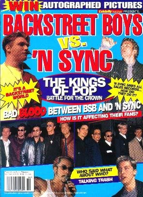 BACKSTREET BOYS VS 'N SYNC 2000 Pink BLAQUE Youngstown